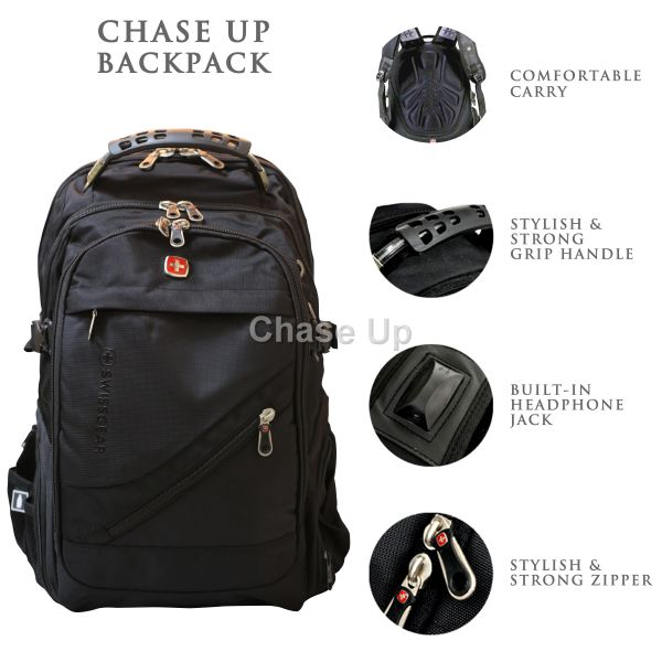 Gents Backpack 8810 TI-006 Imp (Black)
